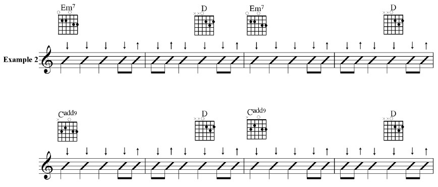 Guitar Lessons With Roger Keplinger Strum Patterns Combined Impressive Guitar Strumming Patterns